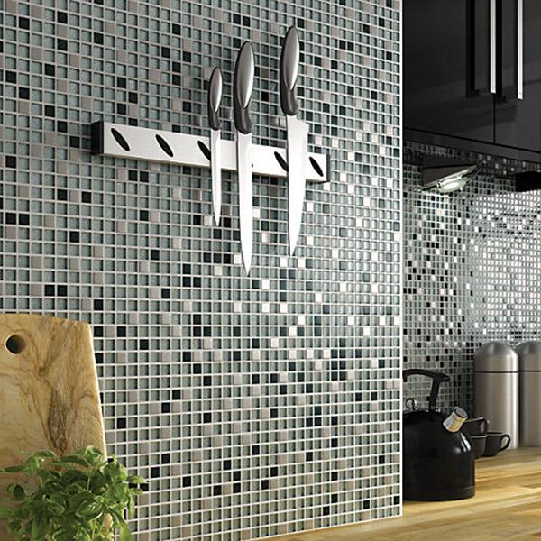 Glass Sparkle mosaic Kitchen Tiles Belfast