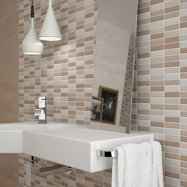 Serpal Beige Bathroom Tiles Belfast